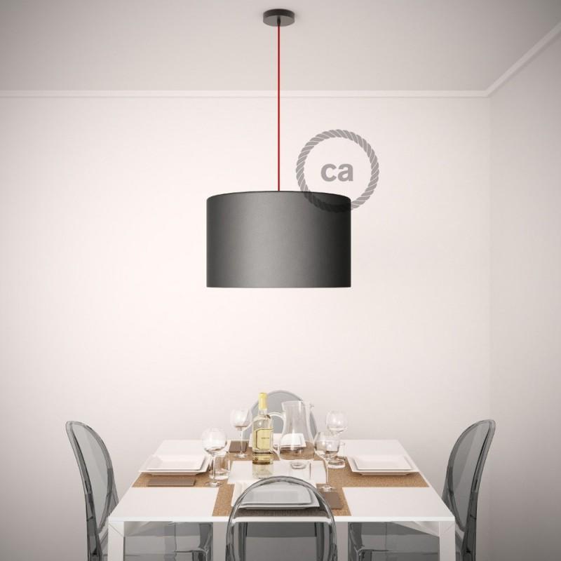 Keramiek plafondplaat van 130 mm met ophangbeugel - Craquelé effect ,100% handgemaakt in Italië