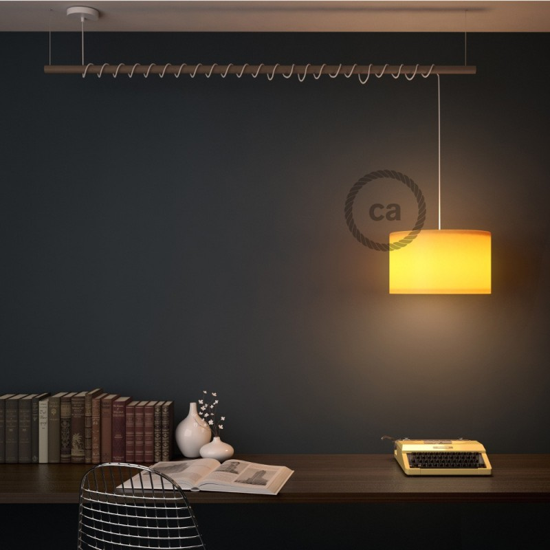 Keramische plafondplaat voorzien van meerdere gaten, voor 100% gemaakt in Italië - Ivoor glazuur