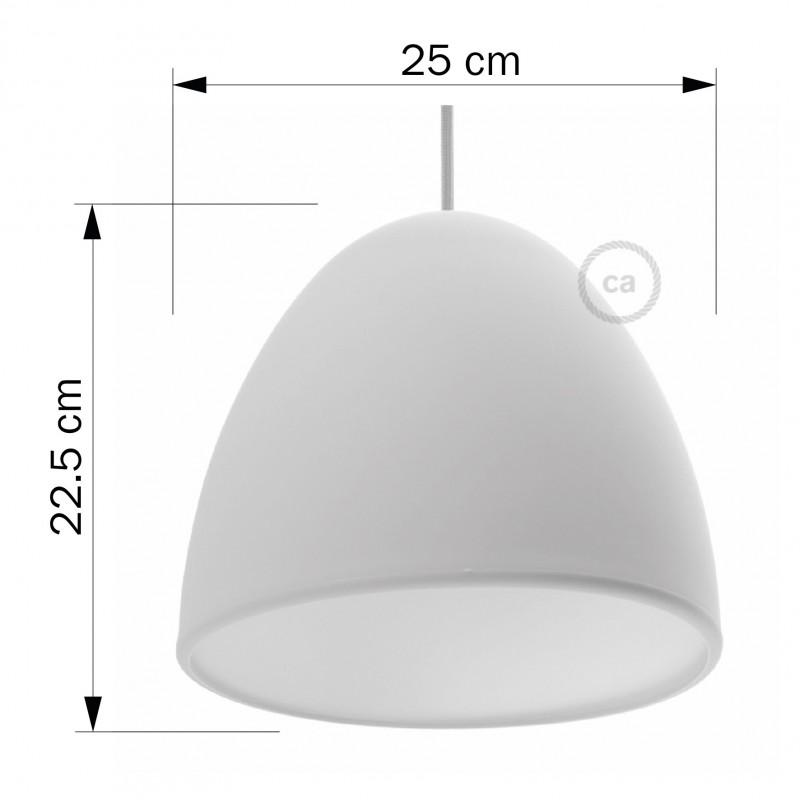 Verlichtingspendel E27 geschikt voor lampenkap. Hanglamp met grijs viscose textielkabel – RM03