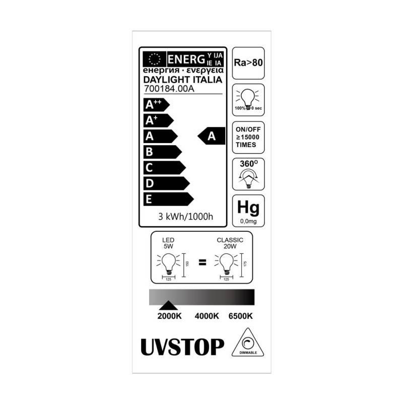 Verlichtingspendel E27 geschikt voor lampenkap. Hanglamp met steengrijs katoen textielkabel – RC30