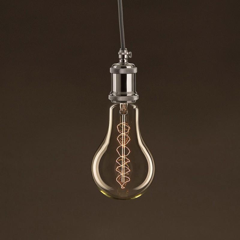 Electrische XL touwkabel, 3 x 0,75 mm. Binnenkabels bedekt met textiel en katoen. Diameter 16 mm.