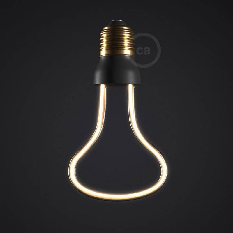 Verlichtingspendel E27 geschikt voor lampenkap. Hanglamp met paars viscose textielkabel – RM14