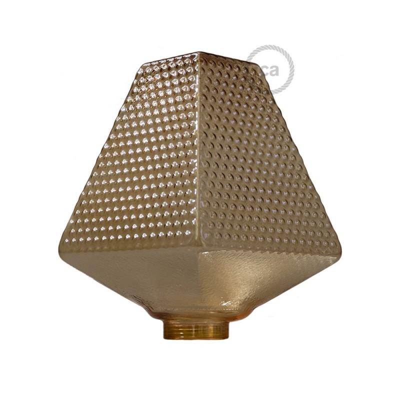 Verlichtingspendel E27 geschikt voor lampenkap. Hanglamp met roodbruin linnen en katoen textielkabel – RS82