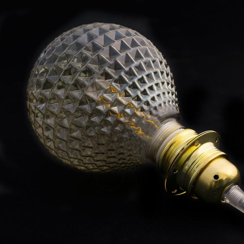 Verlichtingspendel E27 geschikt voor lampenkap. Hanglamp met blauw viscose textielkabel – RZ12