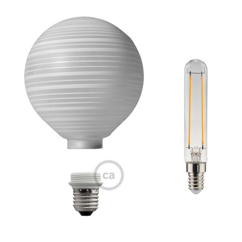 Verlichtingspendel E27 geschikt voor lampenkap. Hanglamp met hemelsblauw viscose textielkabel – RZ11