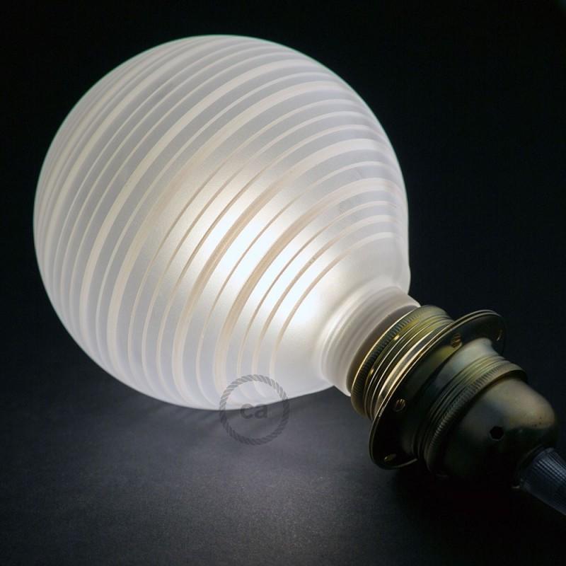 Verlichtingspendel E27 geschikt voor lampenkap. Hanglamp met lila viscose textielkabel – RZ07