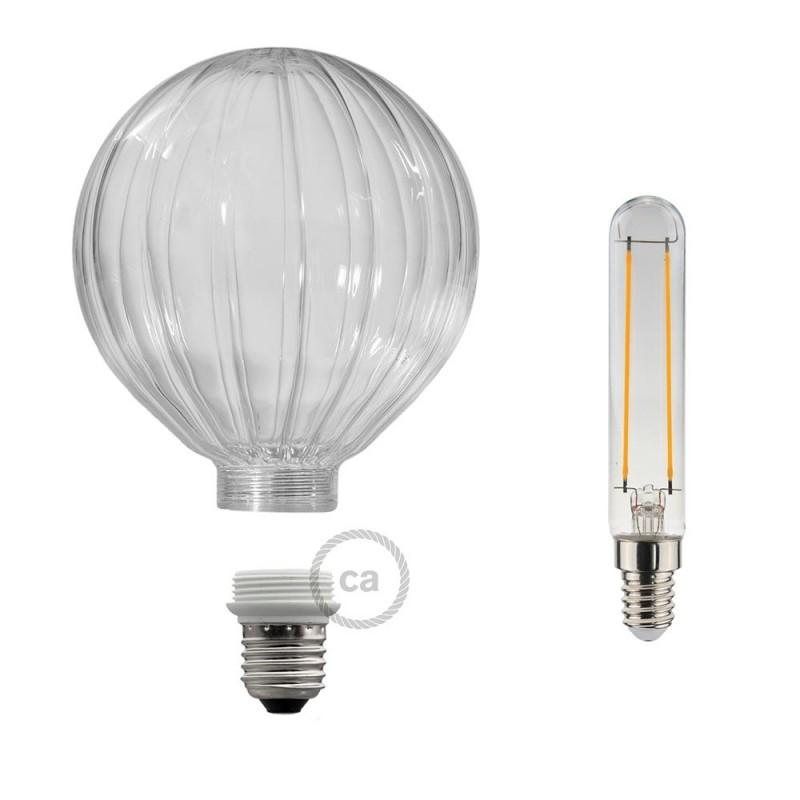 Verlichtingspendel E27 geschikt voor lampenkap. Hanglamp met groen viscose textielkabel – RZ06