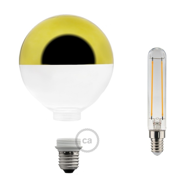 Verlichtingspendel E27 geschikt voor lampenkap. Hanglamp met fluo groen viscose textielkabel – RF06