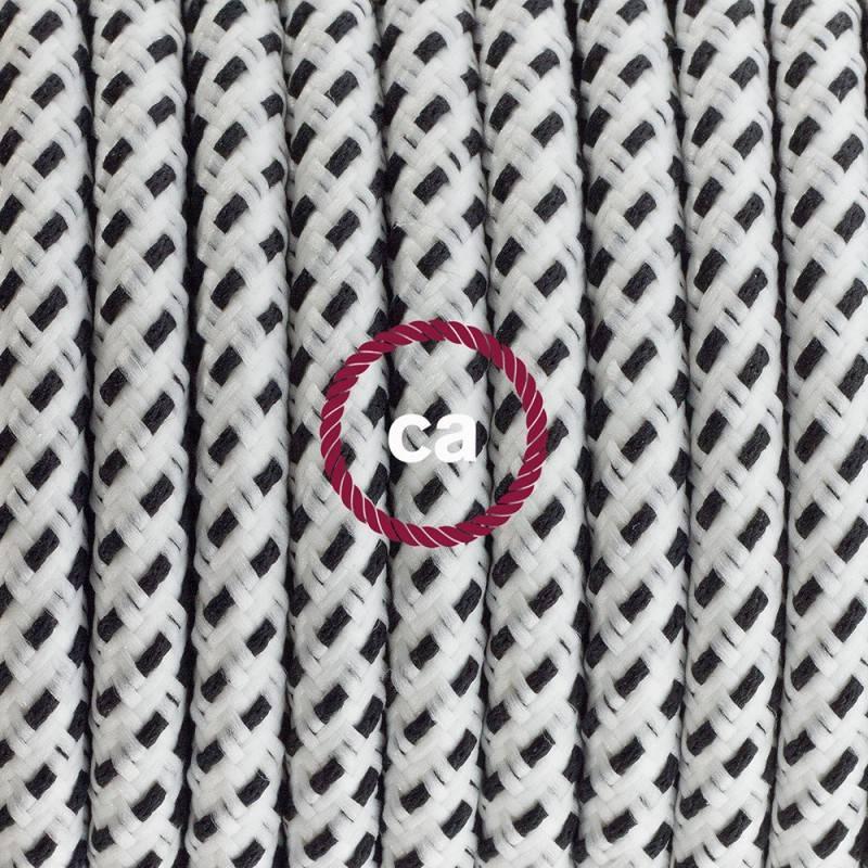 E14 metalen fitting koper, 2 ringen