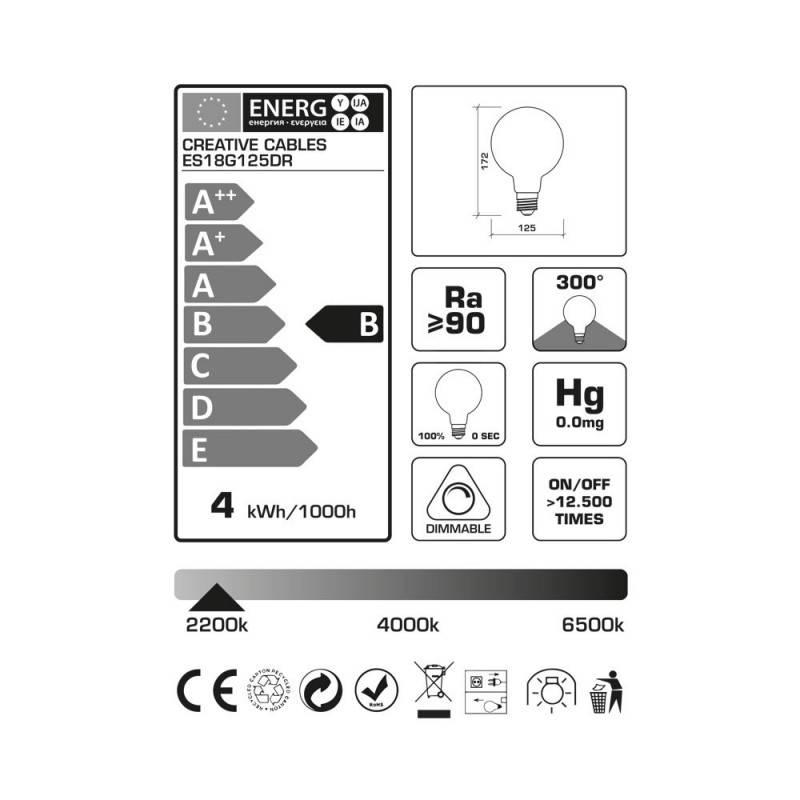Bloem vorm draadframe lampenkap van gepolijst wit metaal voor E27 fitting
