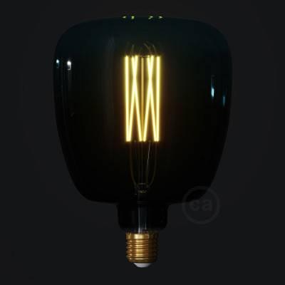 Bona Dusk met recht filament 4W E27 dimbaar 2200K