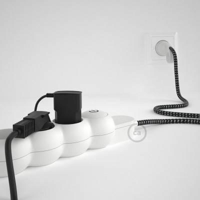 Sonar XL draadframe lampenkap - zwart metaal met E27 fitting