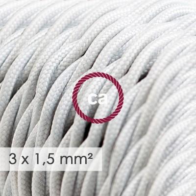Darth XXL draadframe lampenkap - wit metaal met E27 fitting