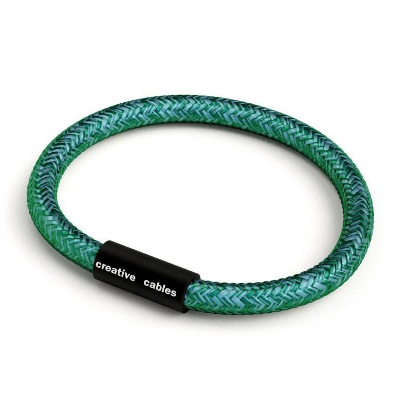 """""""Snake"""" hanglamp met extra lang strijkijzersnoer diamant motief antraciet linnen en katoen RD64"""
