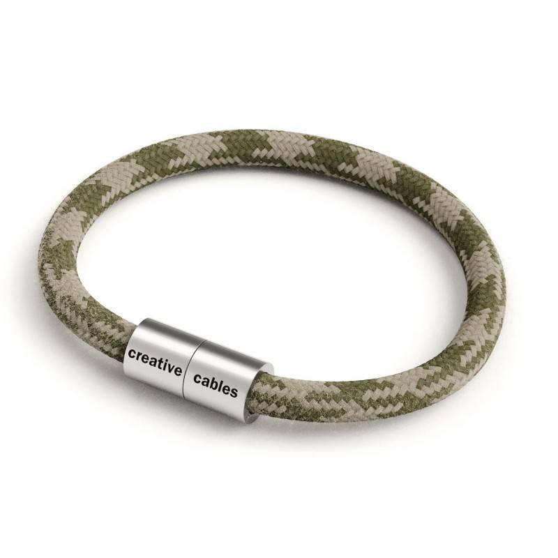 """""""Snake"""" hanglamp met extra lang strijkijzersnoer fluo groen viscose RF06"""