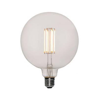 LED XXL transparante lichtbron G155 lang filament 7W E27 dimbaar 2200K
