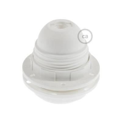 Hard plastic E27 fitting voor lampenkap met 2 schroefringen