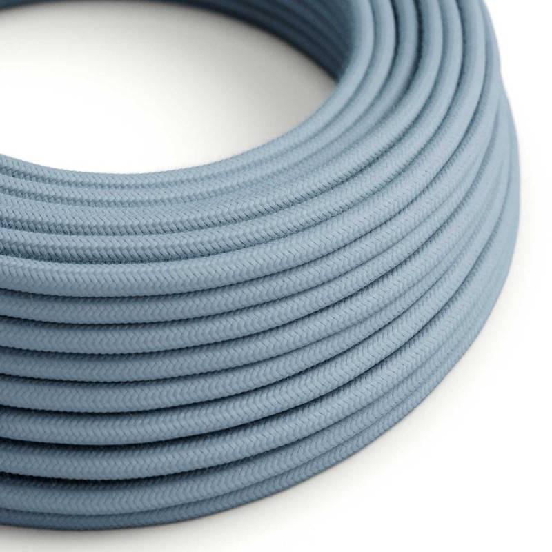 Houten verlichtingspendel 2XL electriciteits touwkabel in 24 mm. van jute
