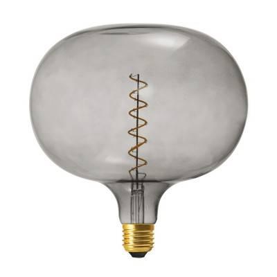 LED Emerald lichtbron - Globe G95 dubbele lus LED spiraal - 5W E27 dimbaar 2200K
