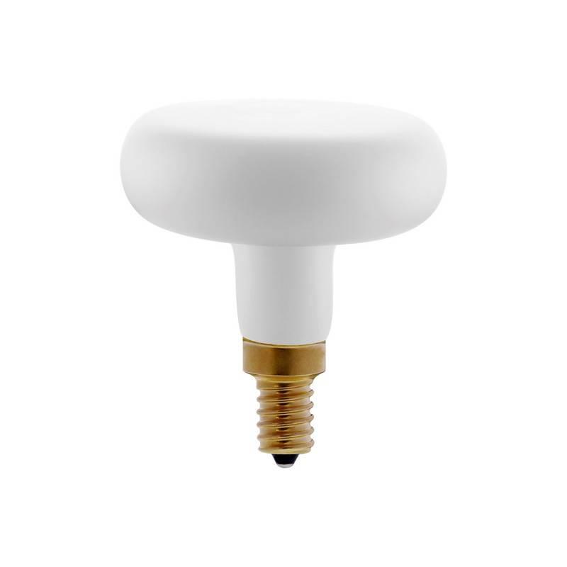 LED gele Flower lichtbron 8W E27 dimbaar 2200K