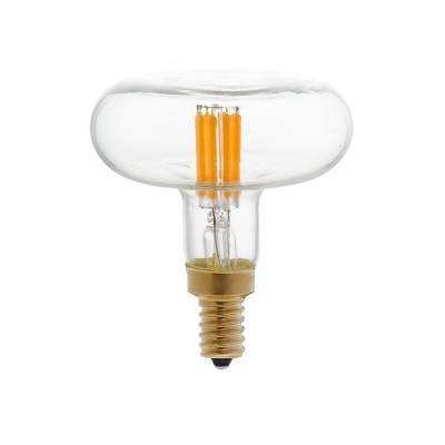 LED zwart Flower lichtbron 8W E27 dimbaar 2200K
