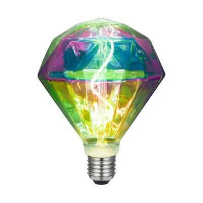 LED bruine bierfles lichtbron 8W E27 dimbaar 1800K