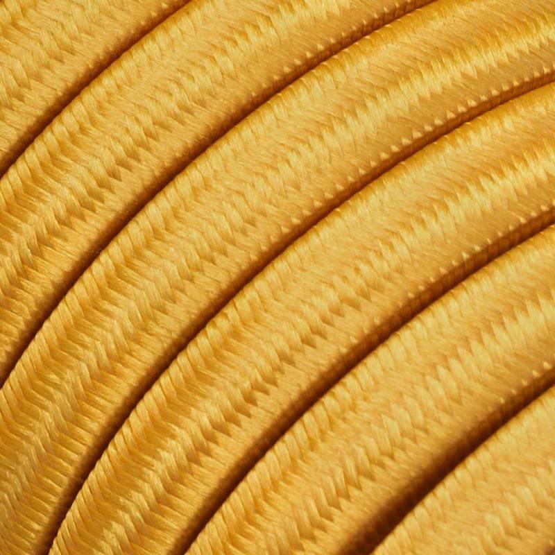 Spostaluce Metallo 90°, het verkoperde metalen verstelbare lichtpunt met strijkijzersnoer en zijgaten