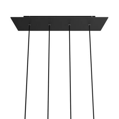 Witte draadbol koepel lampenkap in polyestervezel - 100% handgemaakt