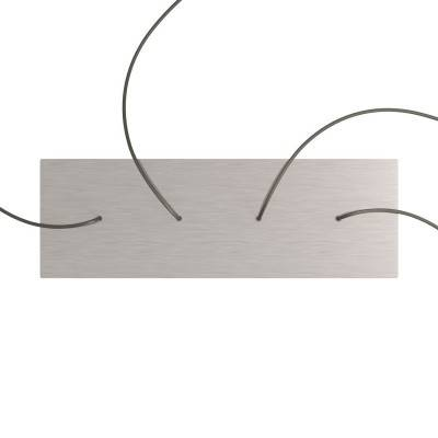 Melkwitte draadbol koepel lampenkap in polyestervezel - 100% handgemaakt