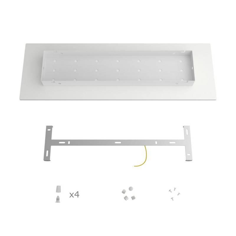 Linnen draadbol koepel lampenkap in polyestervezel - 100% handgemaakt