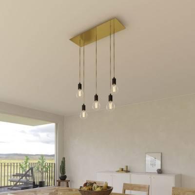 Grafiet draadbol koepel lampenkap in polyestervezel - 100% handgemaakt
