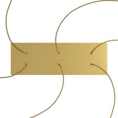 Gele draadbol koepel lampenkap in polyestervezel - 100% handgemaakt