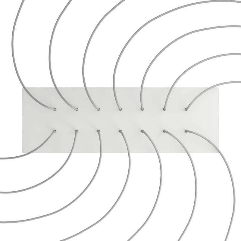 Zwart metalen design trekontlaster met schroefdraaf, moer en ringetje