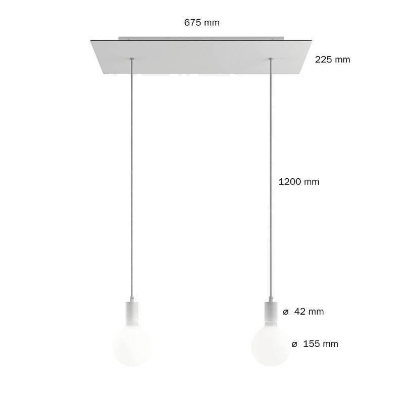 Parelmoer 15 cm. metalen design trekontlaster met schroefdraaf, moer en ringetje