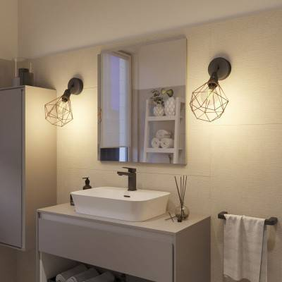 Cobble Dream met spiraal filament 4W E27 dimbaar 2200K