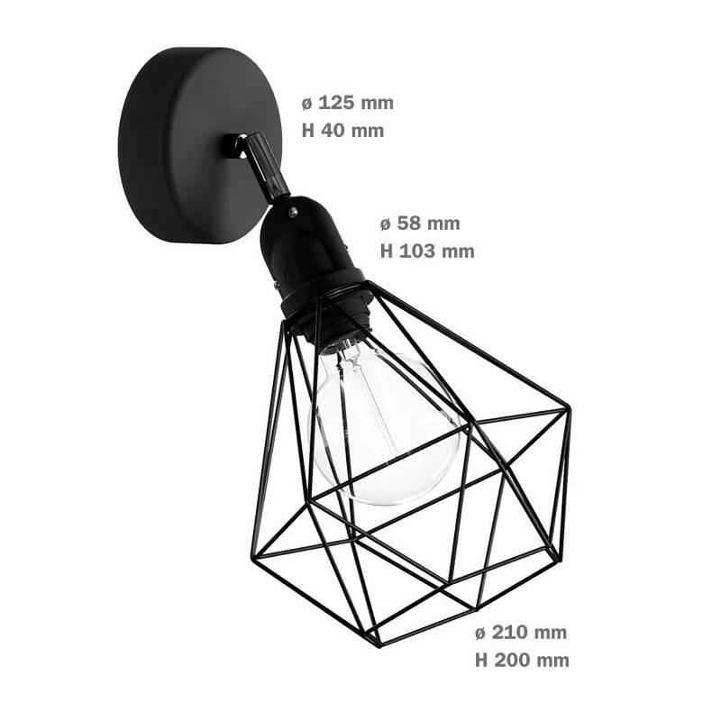 Cobble Dream met spiraal filament 4W E27 dimbaar 2200K
