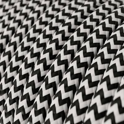 Middelgrote zwart porseleinen plafondkap