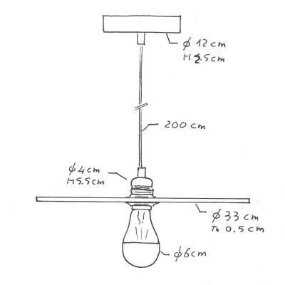 LED porseleinen lichtbron Milo 6W E27 dimbaar 2700K