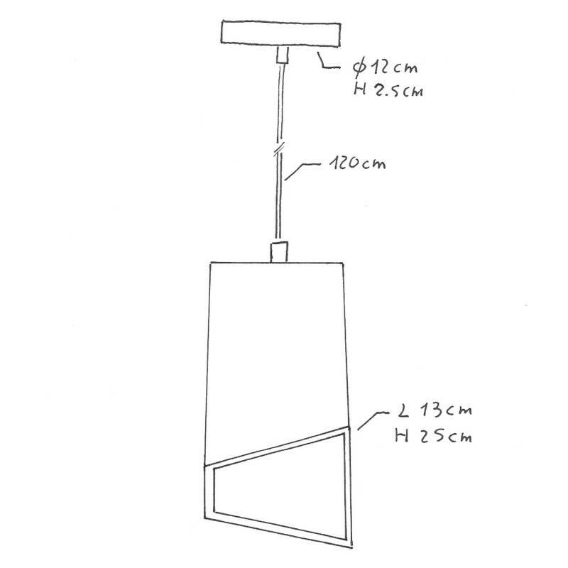 Rose-One compleet rond plafondsysteem 200 mm. met 1 gat