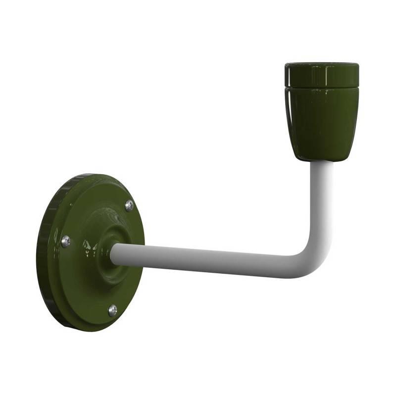 Rose-One compleet rond plafondsysteem 200 mm. met 4 gaten