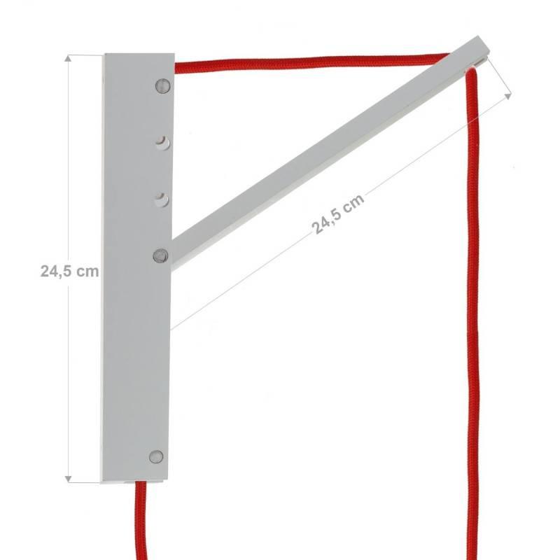 """Metalen """"exclusive"""" E27 fitting voor lampenkap met 2 schroefringen"""