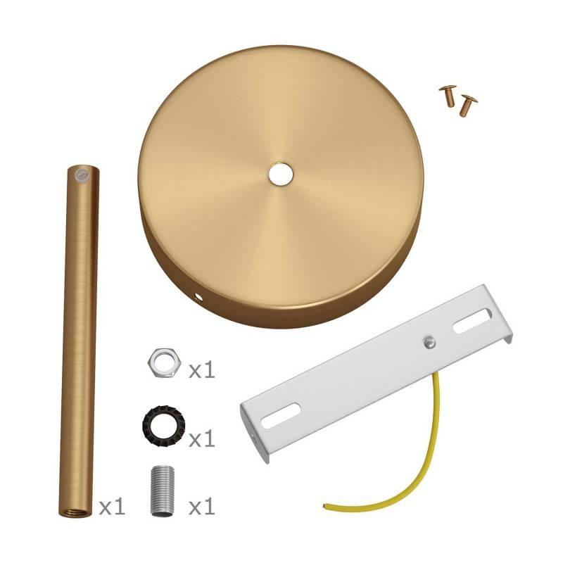 Bakeliet E27 fitting voor lampenkap met 2 schroefringen