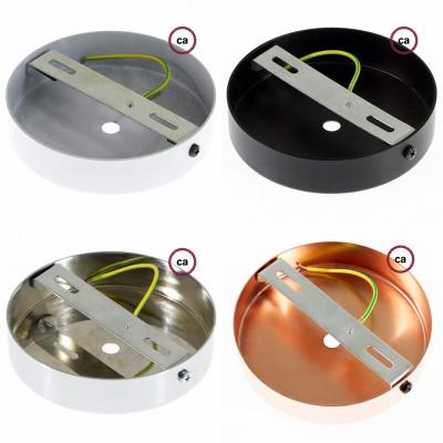EIVA buiten hanglamp met lampenkap, textielkabel, snoerbevestiging, siliconen plafondkap en E27 fitting IP65 waterdicht