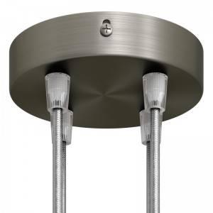 Bol G95 LED lichtbron goudkleurige Croissant lijn met spiraal filament 5W E27 Dimbaar 2000K