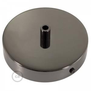 Smart cilindrische metalen plafondopening met 3 gaten - compatibel met spraakassistenten