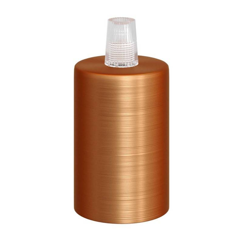 Smart cilindrische metalen plafondkap met 4 gaten (aansluitdoos) - compatibel met spraakassistenten