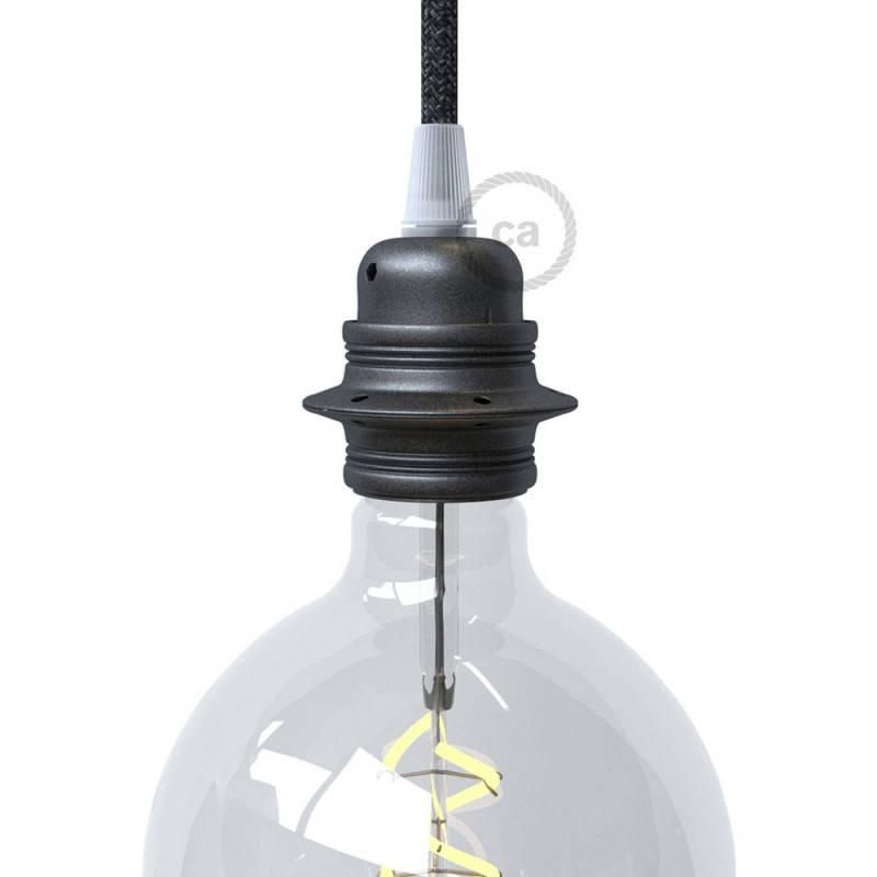 Grote ronde Smart plafondkap, 400 mm sierplaat Rose-One met 6 gaten - compatibel met spraakassistenten