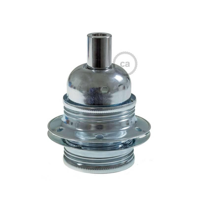 Grote ronde Smart plafondkap, 400 mm sierplaat Rose-One met 8 gaten - compatibel met spraakassistenten