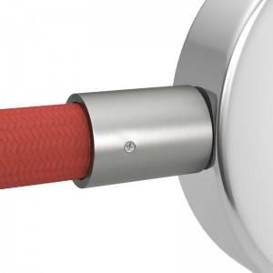 Verzinkte metalen aansluitdop voor 20 mm. Creative-Tube, inclusief accessoires