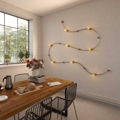 Fermaluce, metalen wand- of plafondlamp